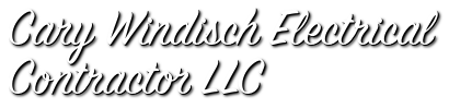 Cary Windisch Electrical Contractor LLC - Electrical Panel Replacement - Parlin, NJ logo
